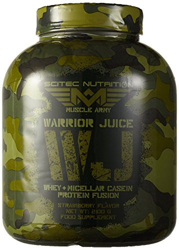 Scitec Nutrition Muscle Army Warrior Juice Erdbeere, 1er Pack (1 x 2.1 kg)