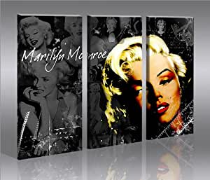 marilyn monroe kunstdruck auf leinwand poster f r die wand bilder auswahl in unserem. Black Bedroom Furniture Sets. Home Design Ideas