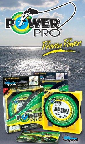 Power Pro Super Line 275m 0,15mm 9kg, Gelb, geflochtene Angelschnur