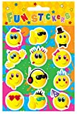 48 x Smiley Face Sticker Sheets