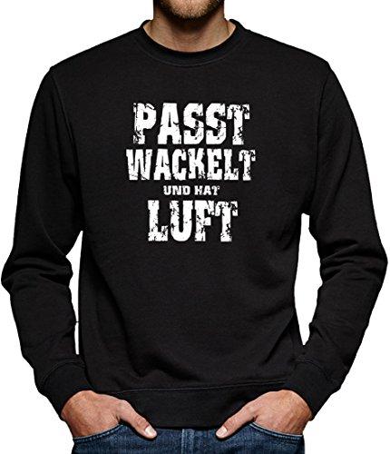 TLM Passt wackelt und hat Luft Sweatshirt Pullover Herren XXL (Halloween Wackelt Kostüme)