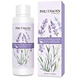Phutawan Lavendelwasser Bio - Lavender Kopfkissenspray als natürliche Einschlafhilfe für Erwachsene & Kinder I Lavender Water auch als Gesichtswasser und Hautpflege (400ml)
