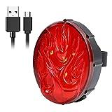 Smart LED Rücklicht Fahrradbeleutung Fahrradlampe - Superhelle LED Lampen fürs Fahrrad