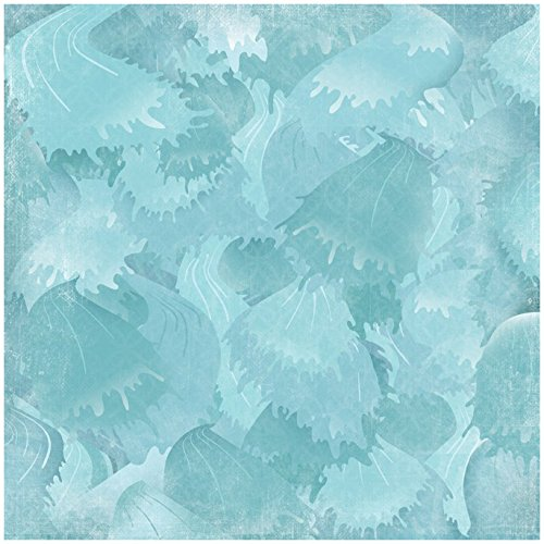 """Taufe Papier 30,5x 30,5cm -peaceful Waters 25pro Pack, Raging Rapids, 12 x 12"""""""