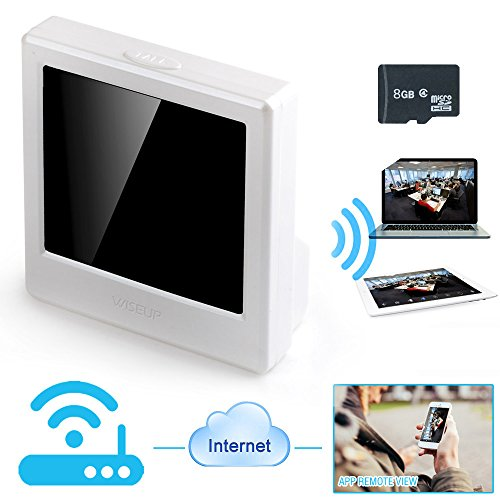 WISEUP 8GB 1280x720P HD Wifi Rete Microcamere