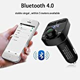 TRUE STORE; X8 Dual USB Car Charger Hands-free Wireless Bluetooth FM Transmitter & Music Adapter, 2.0A & 1.0A Dual USB Port LCD MP3 Player Which Supports TF Card And U Disk. HTC BOLD