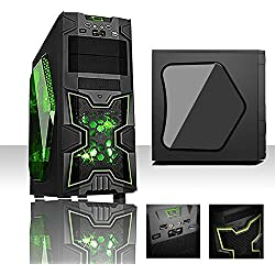 PC DESKTOP GAMING QUAD CORE AMD ATHLON X4 860k 4.0 GHZ/RAM 8GB 1600 MHZ/HD 1TB SATA III/SCHEDA VIDEO 1GB GE FORCE NVIDEA GT210/USCITE HDMI,VGA,DVI, USB 2.0,3.0,HD+ CAPACITA' ANCHE IN 4K COMPLETO ULTRA VELOCE PRONTO ALL'USO adatto Ufficio, Famiglia, Gamer, Gaming PC Multimedia