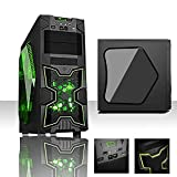 • Case ITEK NINJA CON LETTORE CARD READER INTEGRATO TRSPARENTE CON ILLUMINAZIONE VERDE Dimensioni case: 466x230x490mm Card Reader: incluso (SD card & TF) Porte frontali: 1xUSB3.0, 2xUSB2.0, HD Audio Ventole: 1x12cm Led ROSSO, sul frontale...
