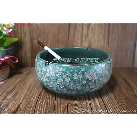 Soggiorno tavolino da caffè, Posacenere Posacenere in ceramica, European-Style posacenere retrò,C