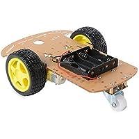 TBS2651 Chasis del coche 2WD Arduino velocidad del motor inteligente con codificador de tacómetro y llevar la trazabilidad - controlable de forma remota y programable