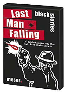 moses 90017 Black Stories Last Man Falling - Juego de Cartas