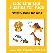 Odd One Out Puzzles for Kids: Activity Book for Kids by Happy Vale Publishing Pte Ltd (2016-04-08)