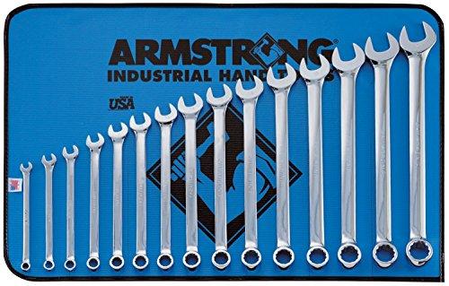 Armstrong Industrial, Hand Tools (Armstrong arm52–634Metrisches Schlüssel 15Stück Kombination Set)