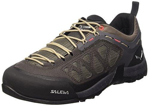 Salewa Firetail 3 - Zustiegs-Bergschuh Herren, Herren Trekking- & Wanderhalbschuhe, Schwarz (Black Olive/Papavero 0939), 42 EU