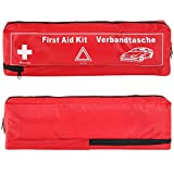 FEMOR Erste Hilfe Set 41PCS Auto Notfall Kit, Medizinische Tasche Reise Notfall Tasche First Aid Kit Test