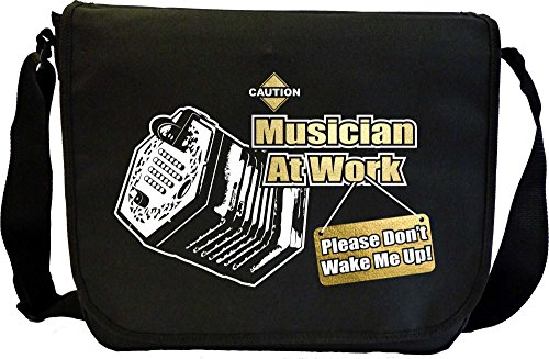 Concertina Dont Wake Me - Sheet Music Document Bag Musik Notentasche MusicaliTee