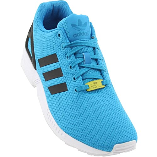 Adidas Men's ZX Flux New Limited Edition Energy Color Sneakers M19839 Solar Blue 8.5