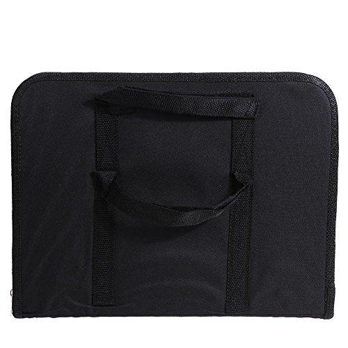 vanpower tragbar Auto Rücksitz Tisch Laptop-Halter Futter Schreibtisch Tablett Aufbewahrungstasche (Rücksitz Laptophalter)