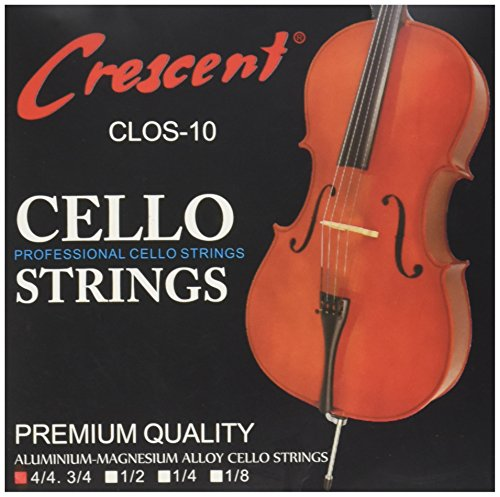 SODIAL(R) Neusilber Cello Saiten 4/4 Set