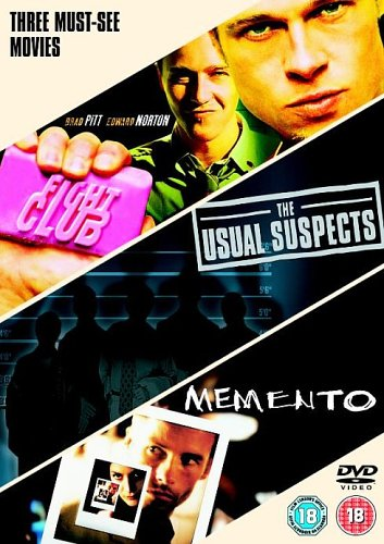 Fight Club The Usual Suspects Memento  DVD