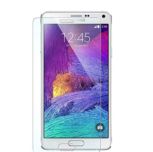 3 X NOVAGO Displayschutzfolie Samsung Galaxy Note 4 - Displayschutz CrystalClear unsichtbar