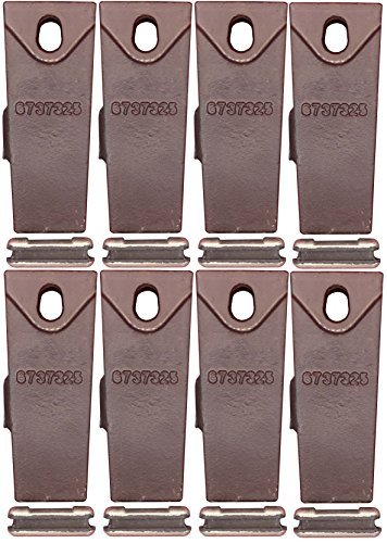 bobcat-6737325-bucket-teeth-with-6737326-flex-pins-8-pack-by-tornado-heavy-equipment-parts