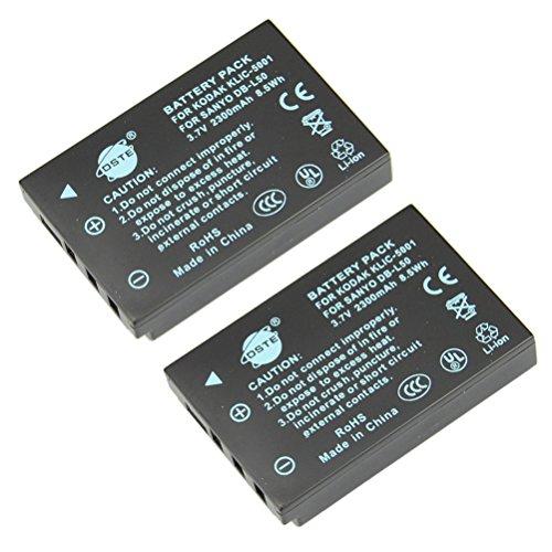 dste-2-pacco-ricambio-batteria-per-kodak-klic-5001-easyshare-p880-z730-z7590-z760-dx6490-z760-dx7440