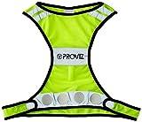 Proviz - Serie 2014, Gilet da Corsa Fluorescente per visibilità Notturna, per Corsa e Bicicletta