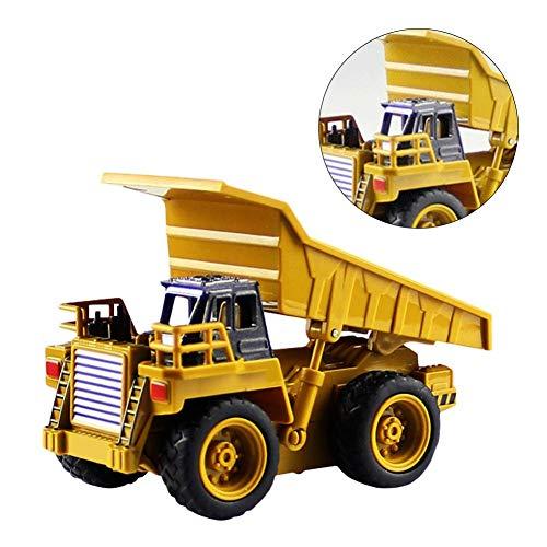 RC Auto kaufen Baufahrzeug Bild 6: Kinder RC Baufahrzeuge Modellbau Spielzeugauto - Fernbedienung Bagger Muldenkipper & Bulldozer Spielzeug für Kleinkinder, Kinder - Bau Spielzeug Traktor von Libertey*