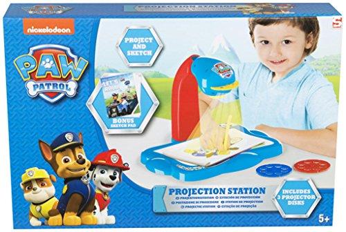 Sambro Paw Patrol Proyector Portátil Infantil, Color Azul (PWP9-Y4538)