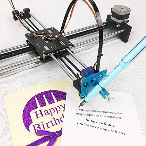 DONOTTAG. montiert XY Plotter, Aktualisierte Version Malen/Handschrift Roboter Kit, programmatisch Diese Plotter steuern, kann sie imitieren menschliche handschriftliche Notiz. Panel für Win / 7/8/10