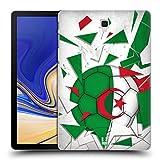 Head Case Designs Algerien Fussball Glassplitter Ruckseite Hülle für Samsung Galaxy Tab S4 10.5 (2018)