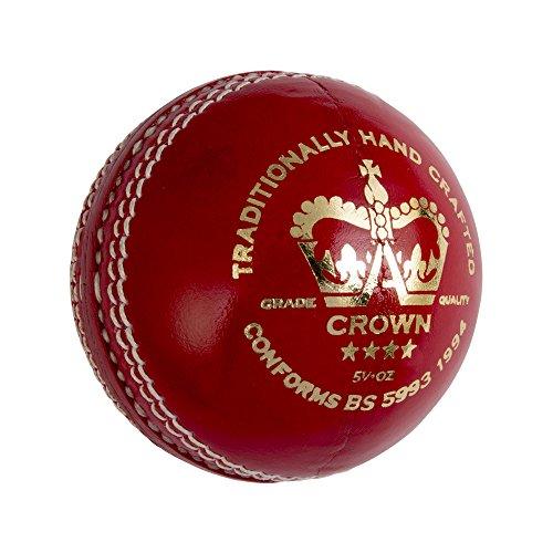 GRAY-NICOLLS Krone 4Star Cricket Ball 5.5oz, rot