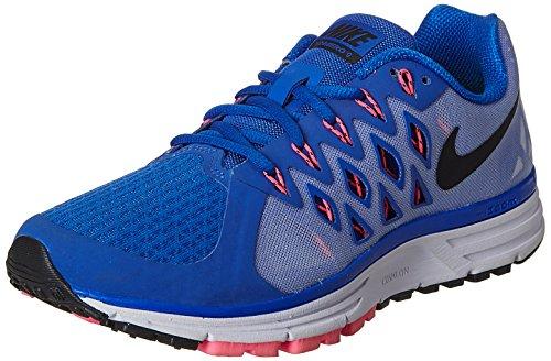 Nike Damen WMNS Zoom Vomero 9 Sneaker Mehrfarbig (Lyon Blue/Black-White-PINK POW) 37.5 EU (Vomero Nike 4)