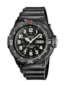 Casio Collection – Herren-Armbanduhr mit Analog-Display und Resin-Armband – MRW-200H-1BVEF