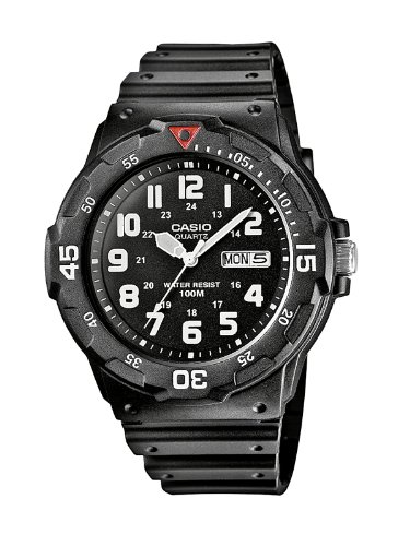 Casio Uhr, Neo-display (Casio Collection Herren-Armbanduhr MRW 200H 1BVEF)