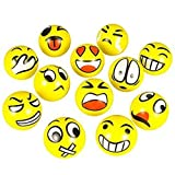 Outtop Emoji Face Squeeze Toy Balls --- ...
