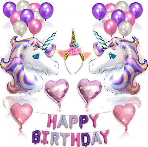 Unicorn Balloon Set Le Meilleur Prix Dans Amazon Savemoneyes