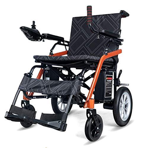 Älterer Untauglicher Elektrischer Aluminiumrollstuhl, Reise-Elektrischer Powerchair Ultra Beweglicher Faltender Energie-Rollstuhl 7
