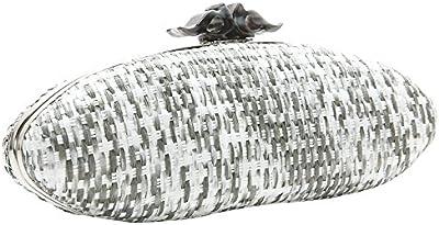 ABBACINO SS16 ABBACINO COCKTAIL RAMATUELLE /  GREY - Cartera de mano con asa para mujer, color gris, talla Talla única