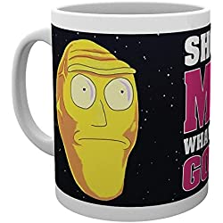 GB eye Rick y Morty Show Me What You Got taza, multicolor