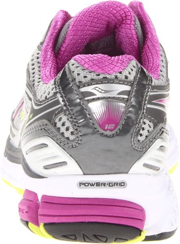 SAUCONY Omni 12 Scarpa da Running Donna Grey/purple/citron