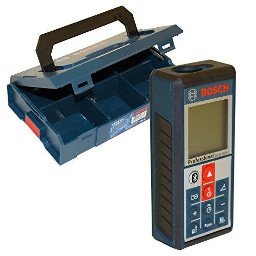 Preisvergleich Produktbild Bosch GLM100C Laser Entfernungsmesser GLM 100 C inkl Bosch L-Boxx Mini Professional - 1600A007SF