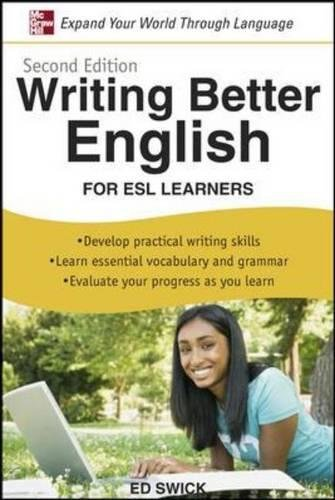 Writing better english: for Esl learners