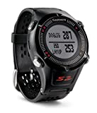 Garmin Approach S2 GPS Golf Watch Distance Rangefinder Shot Counter Digital Scorecard - Black / Red (Certified Refurbished)