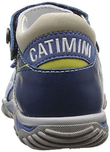 Catimini Capucin, Sandales garçon Multicolore (13 Vte Sable/Jeans Dpf/342)