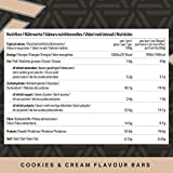 Amazon Brand -Amfit Nutrition  Protein Bar Cookies and Cream 12-pack  (12 x 60g)