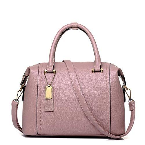 Borsa A Tracolla Tote Bag Da Donna Elegante Borsa A Tracolla Grande In Pelle PU Borsa A Mano Borsa A Mano Donna Borsa Nera Pink