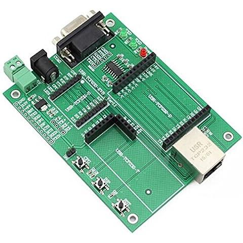 Usr de tcp232EVB TTL UART Puerto Serie A ETHERNET TCP/IP módulo Evaluation tarjeta para tcp232de S/T/D/E2/ED2Serie de módulo