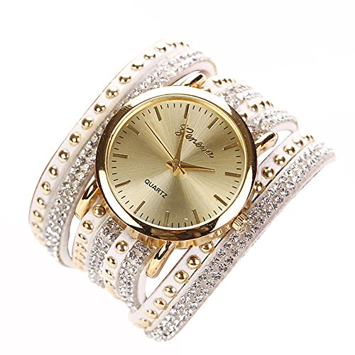 Broadroot 8 Colors Luxury Casua Wristwatch Watch Women Dress Watch White